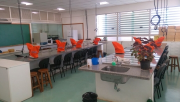 Estrutura do Laboratório